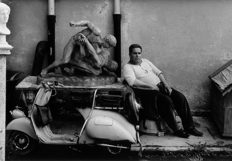 william-klein-cinecittc3a0-rome-1956