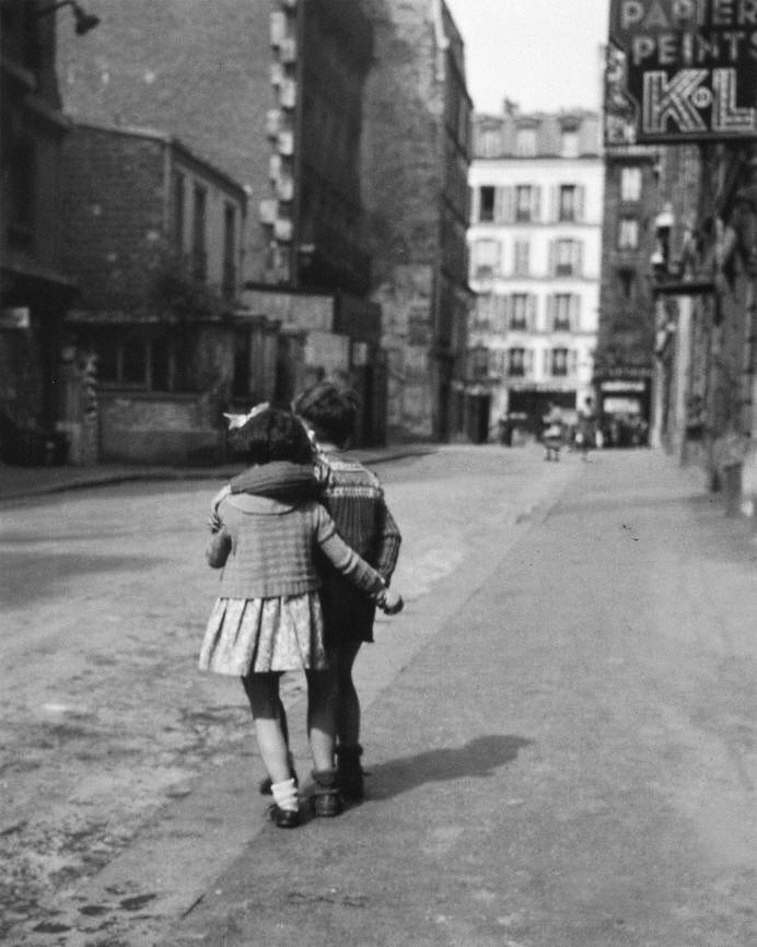 Edouard Boubat - MontMartre 1948