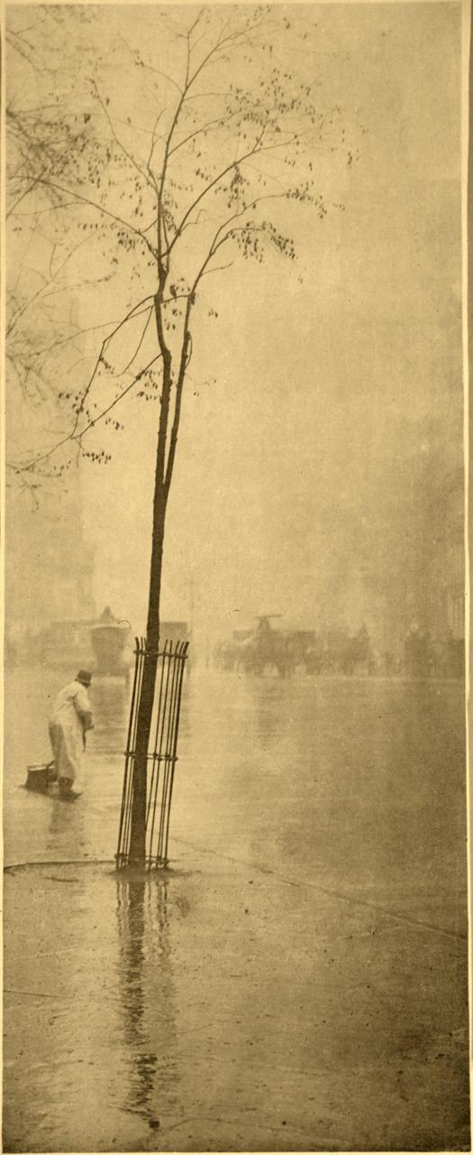 Alfred Stieglitz - Spring showers - 1900