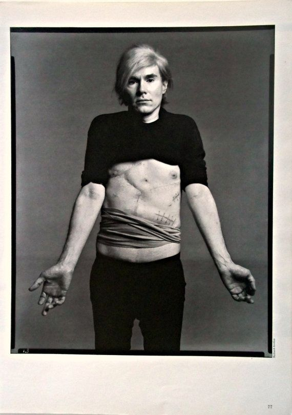Andy Warhol by Richard Avedon - 1987