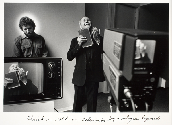 Duane Michals - Christ in NY 1 - 1984