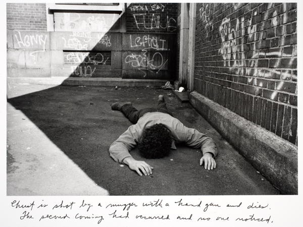 Duane Michals - Christ in NY 6 - 1984