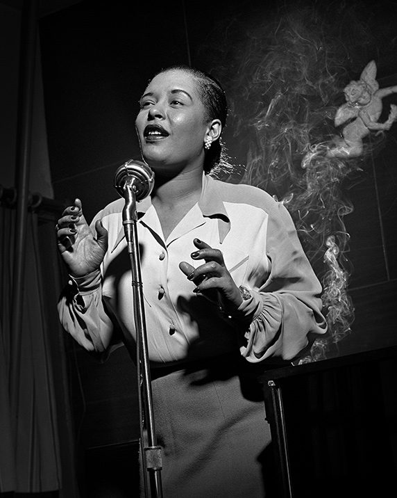 Herman-Leonard-Jazz-Portraits-Billie-Holiday-572x716