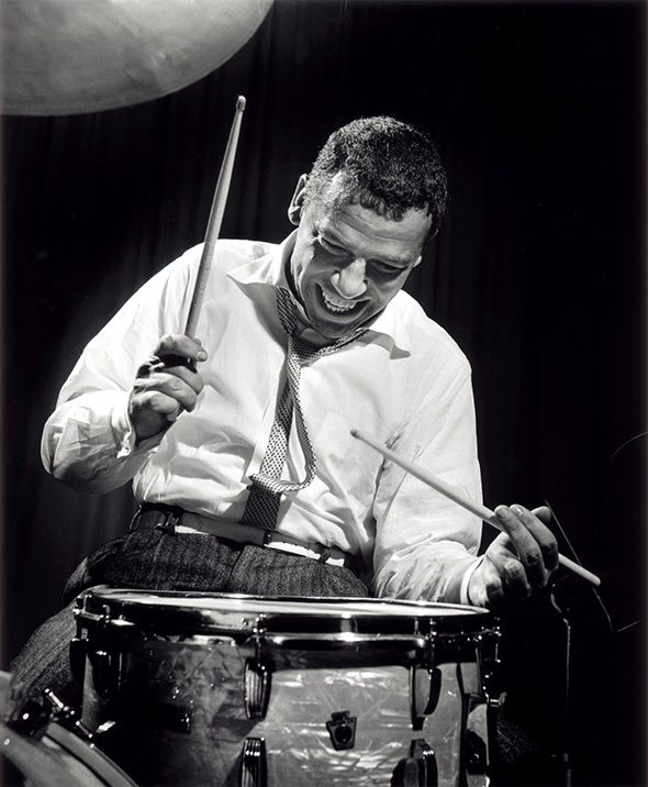 Herman-Leonard-Jazz-Portraits-Buddy-Rich-590x716