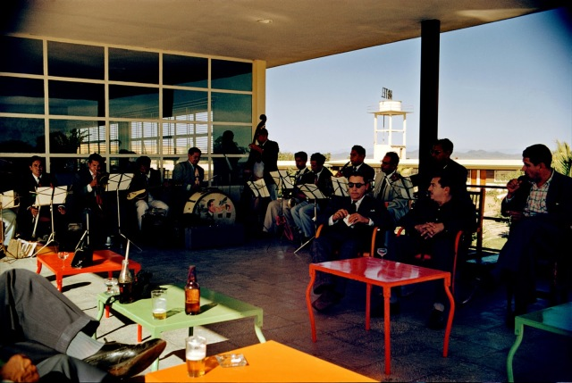 Paul Outerbridge Airport Café with Band Mexico 1950