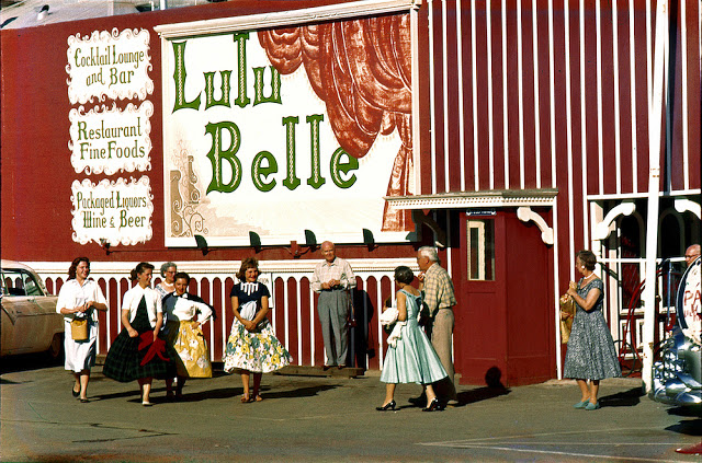 """Lulu Belle"", Restaurant and Bar, Las Vegas, c. 1948"